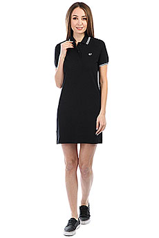 Платье женский Fred Perry Twin Tipped Black