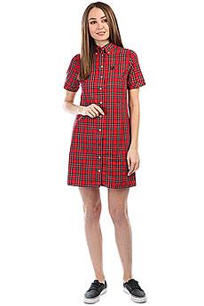 Платье женское Fred Perry Tartan Red