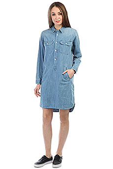 Платье женское Carhartt WIP Southfield Blue (prime Bleached)