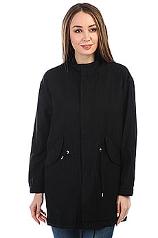 Куртка женская Carhartt WIP Jaks Parka Black (rinsed)