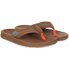 Вьетнамки Quiksilver Travel Oasis M Brown/Brown/Orange