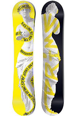Сноуборд PRIME Snowboards Art 153 Yellow
