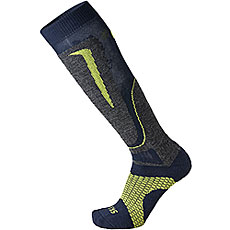 Носки высокие Mico Basic Ski Sock In Wool Blue