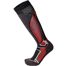 Носки высокие Mico Official Ita Ski Socks Black/Red
