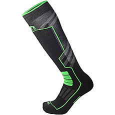 Носки высокие Mico Ski Performance Sock In Polypropylene Verde Fluo