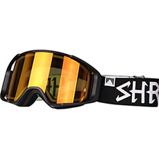 Маска для сноуборда Shred Simplify Blackout + Доп Линза Black