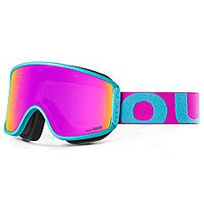 Маска для сноуборда OUT OF Shift + Доп Линза Turquoise Pink(violet Mci)