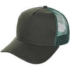 Бейсболка классическая TrueSpin Blank Round Visor Trucker Dark Green