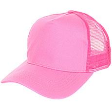 Бейсболка классическая TrueSpin Blank Round Visor Trucker Pink