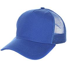 Бейсболка классическая TrueSpin Blank Round Visor Trucker Royal Blue
