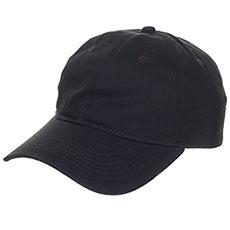 Бейсболка классическая TrueSpin Unstrucured Dad Cap Black