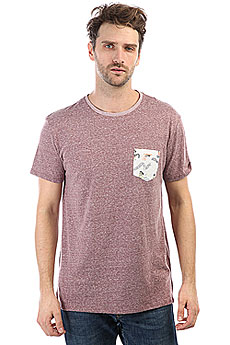 Футболка Quiksilver Brokenleash Vineyard Wine Heathe