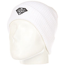 Шапка Diamond Brilliant Fold Beanie White