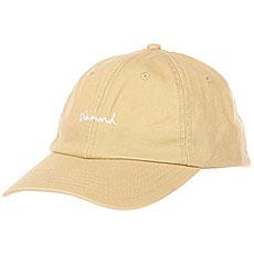 Бейсболка классическая Diamond Script Sports Hat Khaki