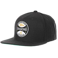 Бейсболка классическая Diamond Kings Snapback Black