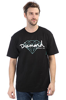 Футболка Diamond Brilliant Script Black