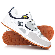Кроссовки DC Kalis Lite White/Grey/Yellow