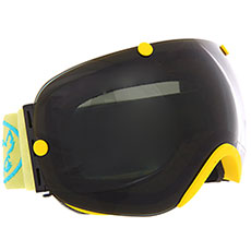 Маска для сноуборда Vizzo Spherix Dark Smoke Mirror/Yellow