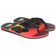Вьетнамки Quiksilver Molokai Layback Black/Orange