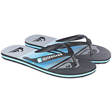Вьетнамки Quiksilver Molohighlinslab Black/Blue/Grey