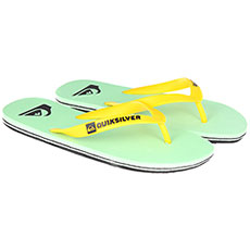 Вьетнамки Quiksilver Molokai Black/Green/White