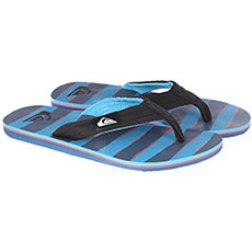 Вьетнамки Quiksilver Molokai Layback Black/Red/Blue