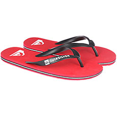 Вьетнамки Quiksilver Molokai Black/Red/White