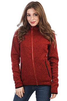Толстовка классическая женская WearColour Snug Red Melange