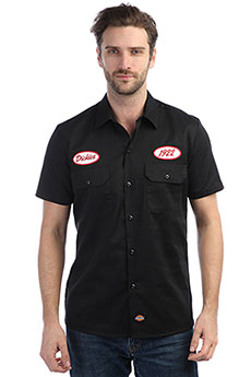 Рубашка Dickies Rotonda South Black