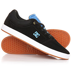 Кеды DC Crisis Shoe Black/Black/Blue