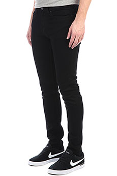 Джинсы узкие DC Worker Slim Black Rinse