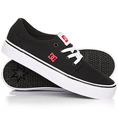 Кеды низкие детские DC Trase Tx Black/Red/White