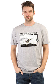 Футболка Quiksilver Ssclablackhoriz Athletic Heather