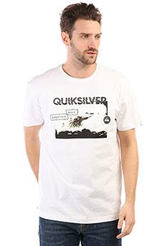 Футболка Quiksilver Ssclablackhoriz White