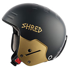 Шлем для сноуборда Shred Basher Ultimate Black/Gold