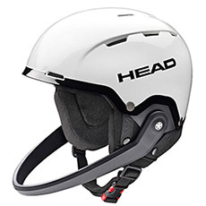 Шлем для сноуборда Head Team Sl+ Chinguard White/Black