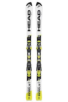 Горные лыжи Head Wc Rebels I.sl Rd Sw Race Plate + Ff Evo 16 (горные Лыжи+крепления Гл) White/Black