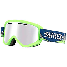 Маска для сноуборда Shred Wonderfy Needmoresnow Cbl/Plasma (nodistortion) Neon Green