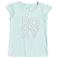 Футболка детская Roxy Moidbubbletypo Blue Light