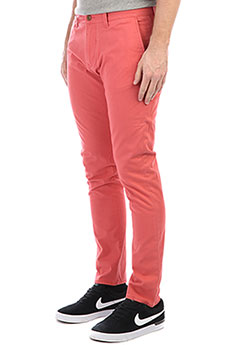Штаны узкие Quiksilver Krandy Mineral Red