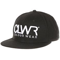 Бейсболка с прямым козырьком CLWR Clwr Cap Black