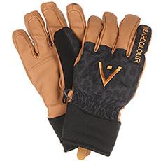 Перчатки сноубордические WearColour Rider Glove Black Leo