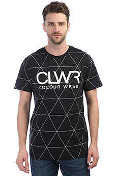 Футболка Colour Wear Clwr Tee Black Polygon