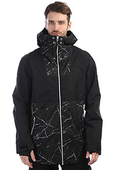 Куртка утепленная Colour Wear Block Jacket Black Marble