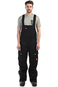 Штаны сноубордические Colour Wear Bib Pant Black