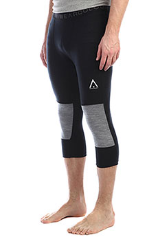 Термобелье (низ) Colour Wear Shield 3/4 Pant Black