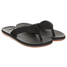 Вьетнамки Quiksilver Coastaloasis Ii Black/Black/Brown