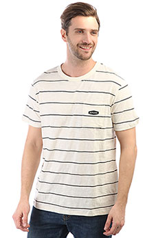 Футболка Rip Curl Simply Striped Tee Tofu