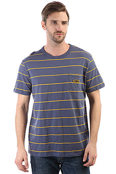Футболка Rip Curl Simply Striped Tee Blue Indigo