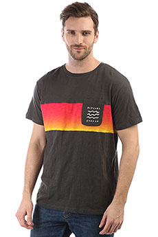 Футболка Rip Curl Line Up Tee Pirate Black